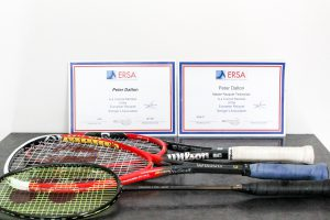 As a member of the European Racquet Stringers Association, Peter is accredited as a Master Racket technician
