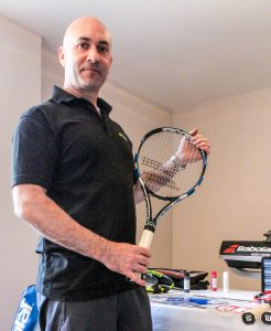 StringFix owner Peter Dalton is a keen player himself
